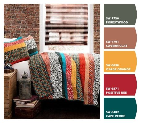 Paint colors from ColorSnap by Sherwin-Williams | Guest ...