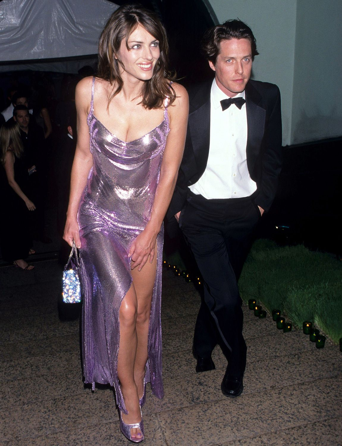 Elizabeth Hurley Rewears Her Iconic Versace Dress 21 Years Later And We Re Doing A Double Take In 2020 Fashion Elizabeth Hurley Versace Dress