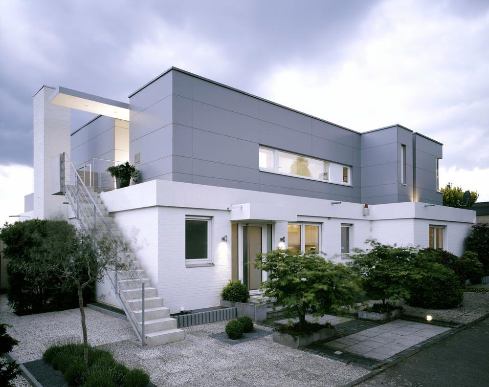Wohnhaus mit aussentreppe in das for Mobiles wohnhaus