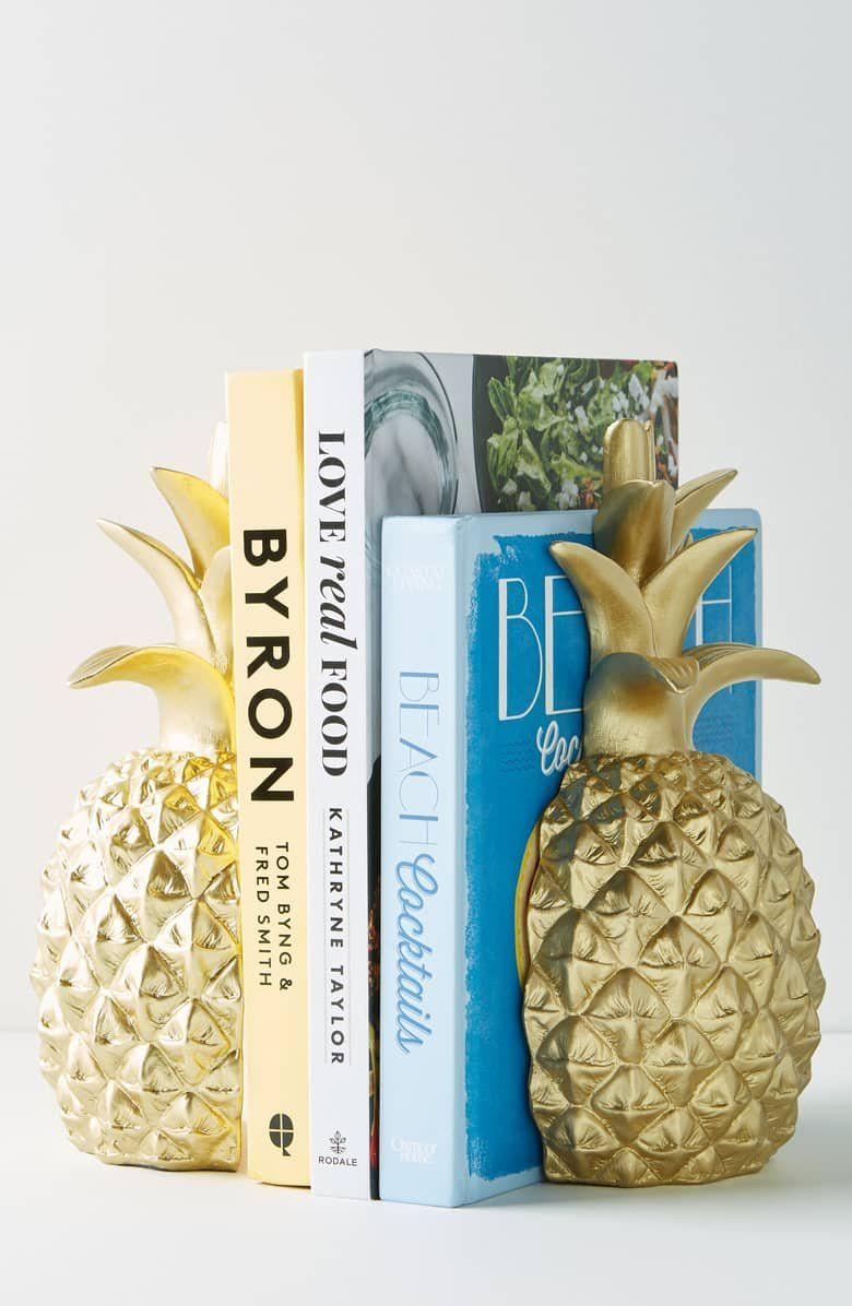 Anthropologie Pineapple Bookends Pineapple Bookends Bookends