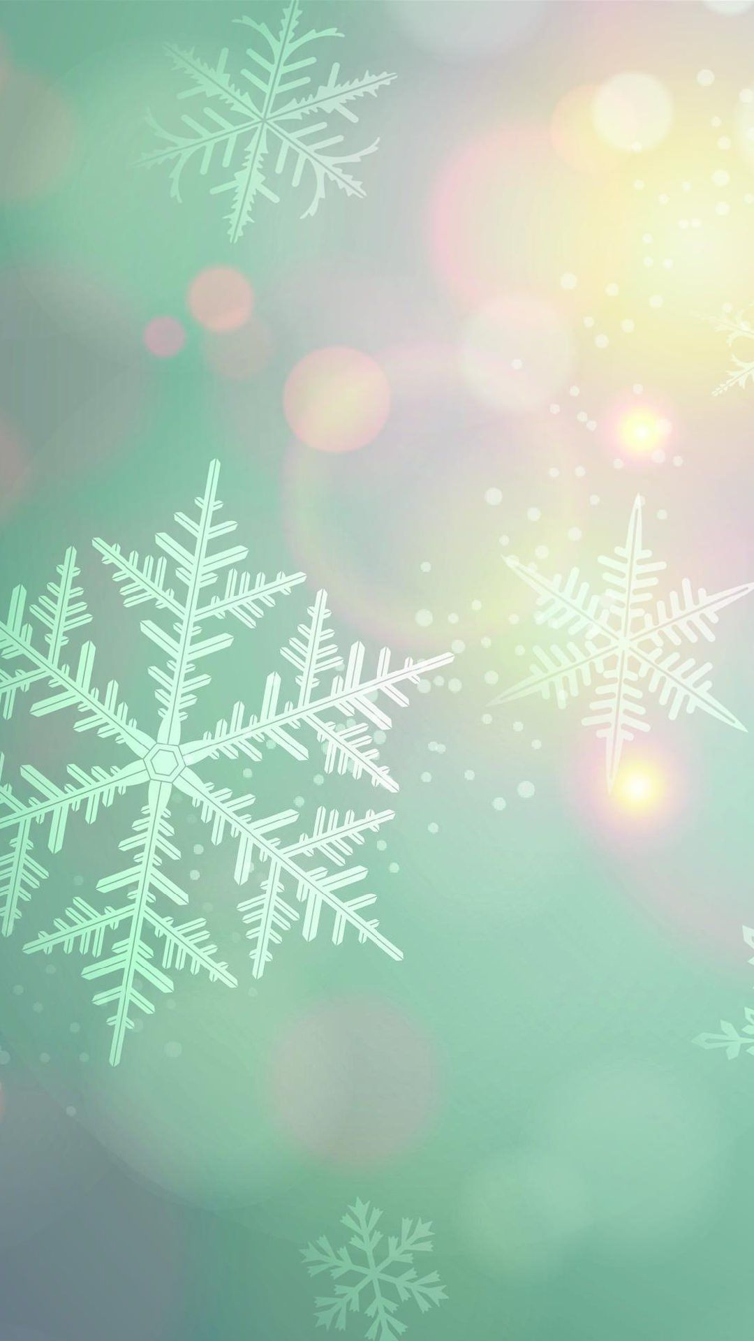 Snow Crystal Snowflake Wallpaper Cute Christmas Wallpaper Crystal Iphone Wallpaper