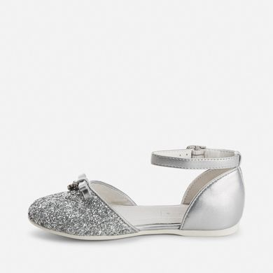 Zapatos plateado de primavera formales infantiles F51sPkTf