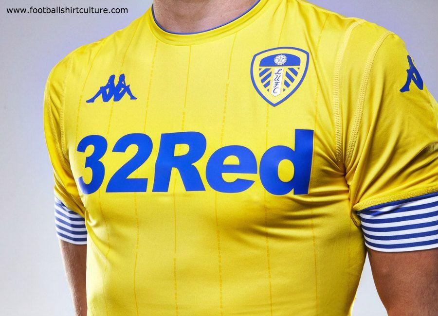 lufc  leedsunited Leeds United 2018-19 Kappa Third Kit ... 7215ac0f2