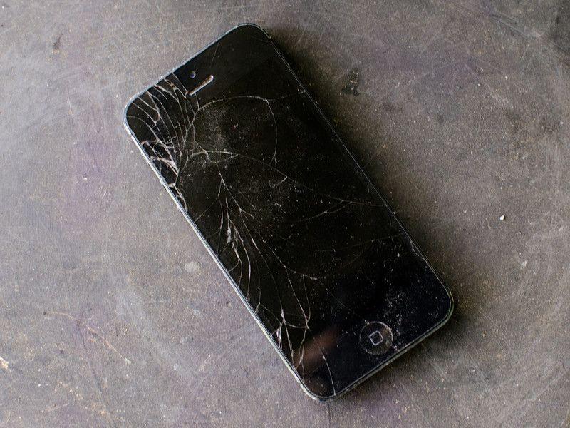 cracked screen ios app