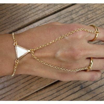 Bracelet Rings. Interesting.