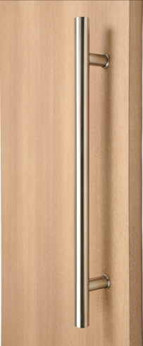 Ladder Pull Handle Back To Back Brushed Satin Stainless Steel Finish Door Handles Stainless Steel Door Handles Door Handle Design