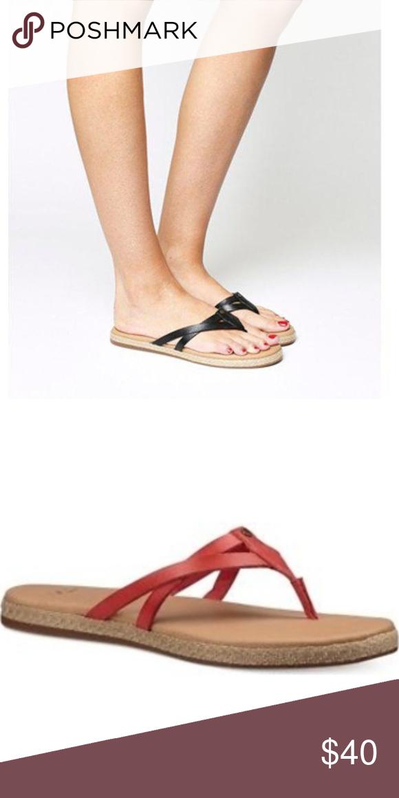 44bd63abecc UGG Annice Flip Flop Sandals Size 9 NWOT- Annice Flip Flop Sandal ...