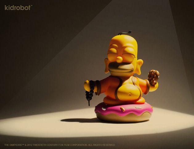 kidrobot-simpsons-homer-buddha-1  MUST BUY