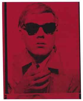#AndyWarhol   Self-Portrait   signed twice, inscribed and dated twice 'To Thilo with Love Andy Warhol 1963' on the overlap.  acrylic and silkscreen ink on canvas   20 x 16 inches