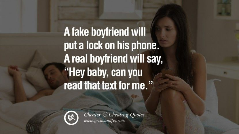 60 Quotes On Cheating Boyfriend And Lying Husband | Inspirational