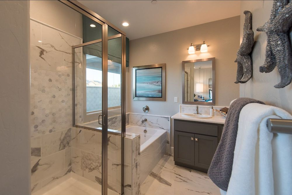 And This Is Just The Master Bathroom Come See All The Options To Make A Uniquely You Home At Sky Meado Woodside Homes New Home Buyer New Home Communities