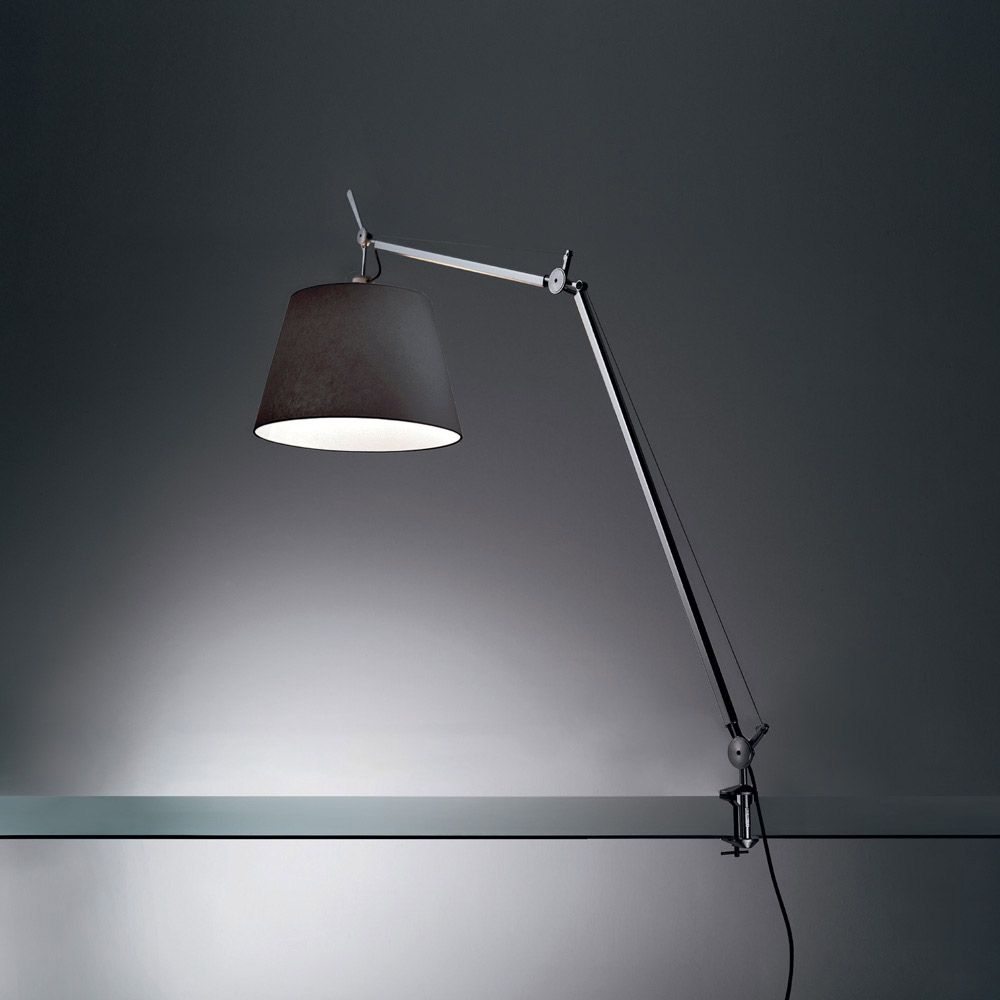 Tolomeo Mega Task Lamp With Clamp By Artemide Tlm0001 Desk Lamp Lamp Table Lamp