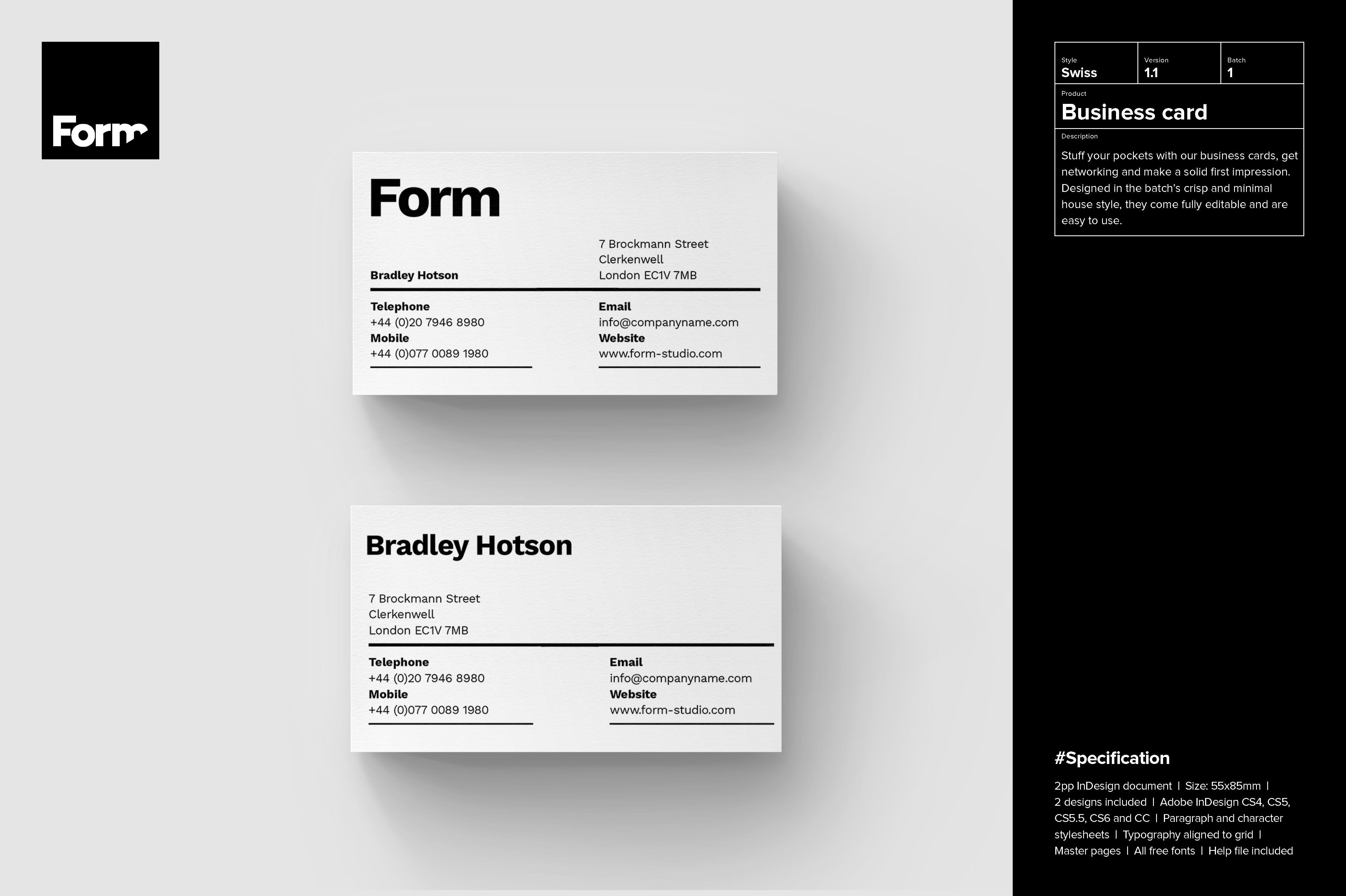 Pin By Abdullah Nayeem On Card Design Free Business Card Templates Business Cards Creative Templates Business Card Design Inspiration