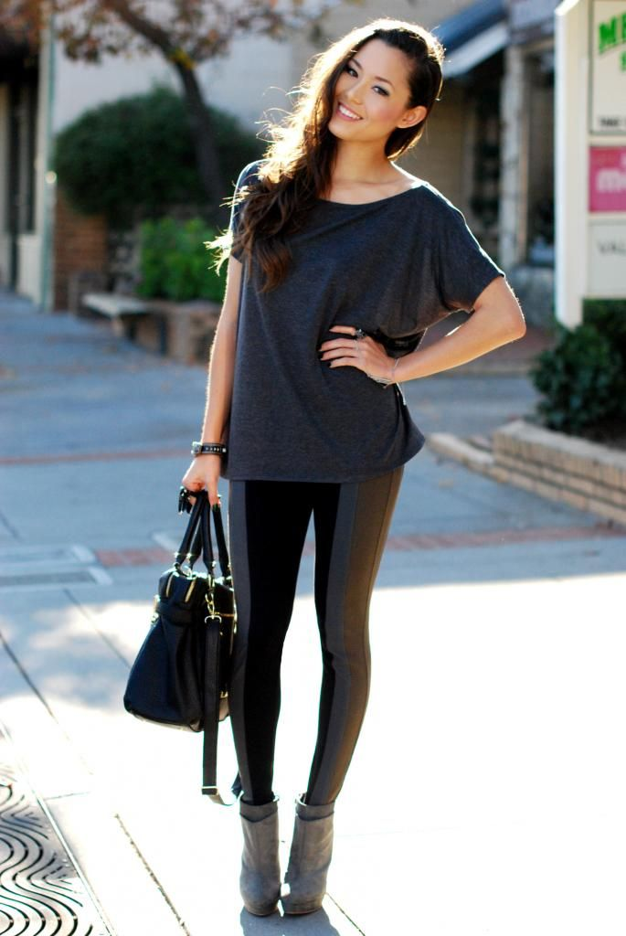 Legging Outfit Inspiration Via Hapa Time  Street Style -7701