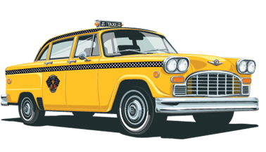 Checker Cab | I'm a True New Yorker | Taxi, Taxi app, Nyc