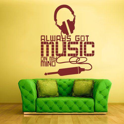 Wall Vinyl Sticker Decals Decor Art Bedroom Design Mural Sign Words ...
