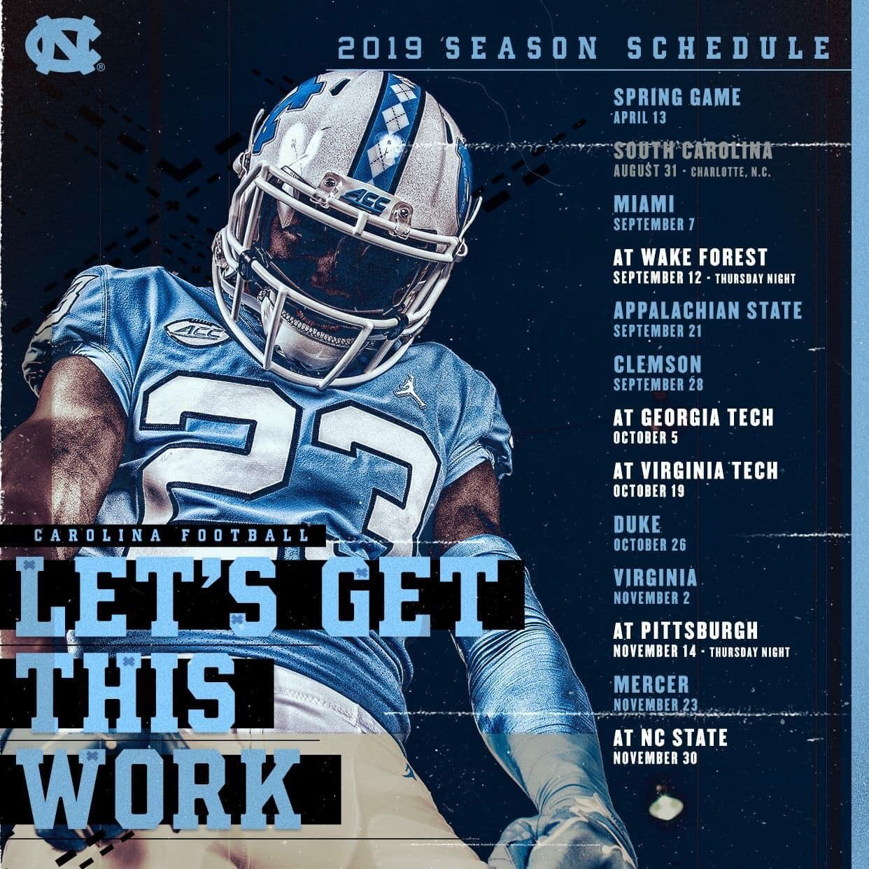 Pin by Keith Pickels on UNC FOOTBALL Carolina football