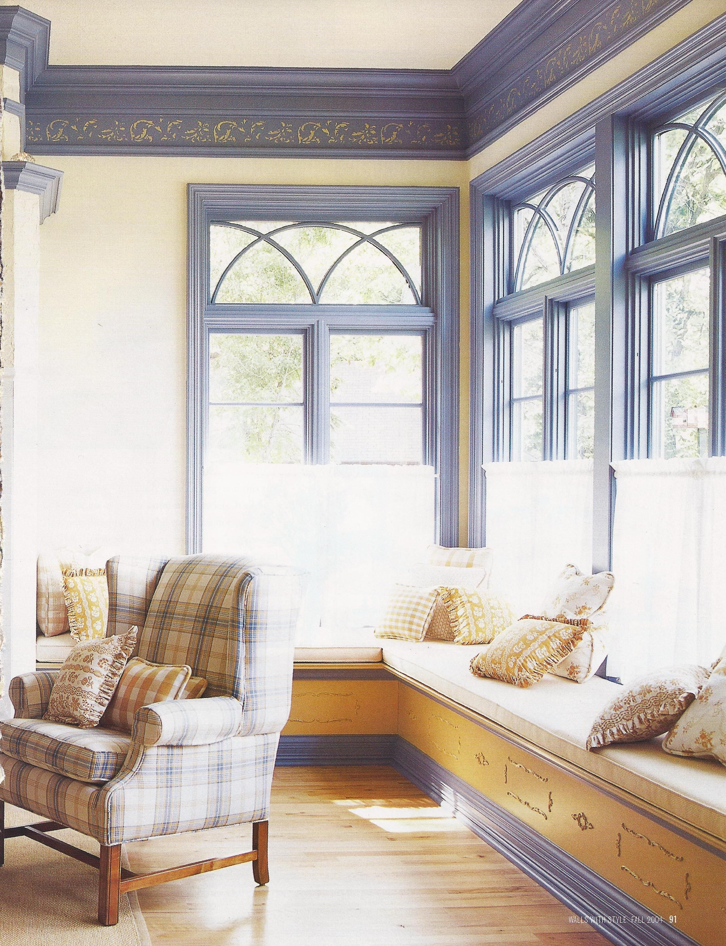 John And Jan Carlsons Living Room Window Seat (Bhg Windows