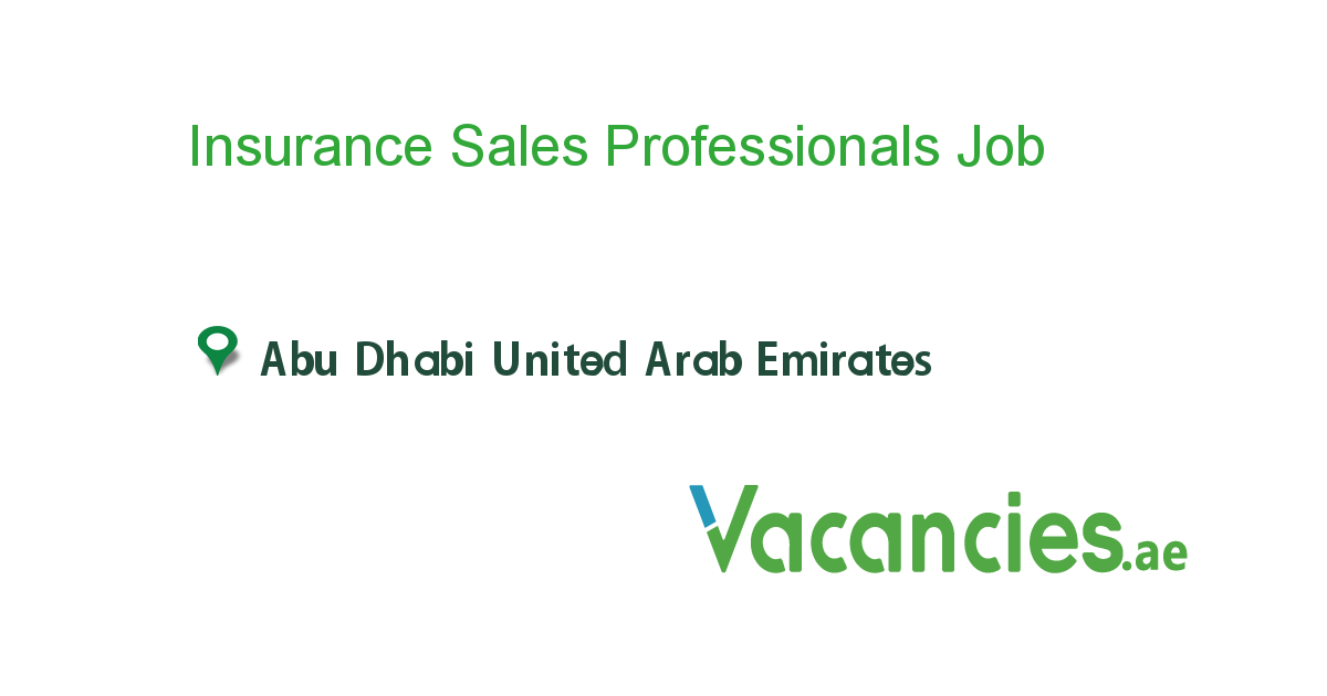 Insurance Sales Professionals Executive Jobs Company Job Job