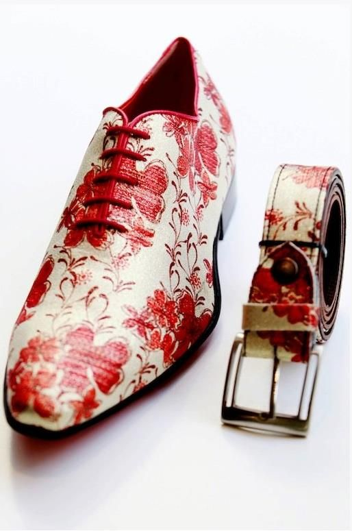 Sneakers Original Shoes Italian Style Floral Paisley