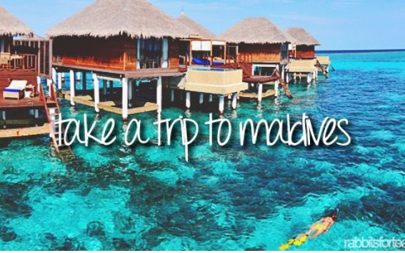 Go to the Maldives for my 40th birthday!