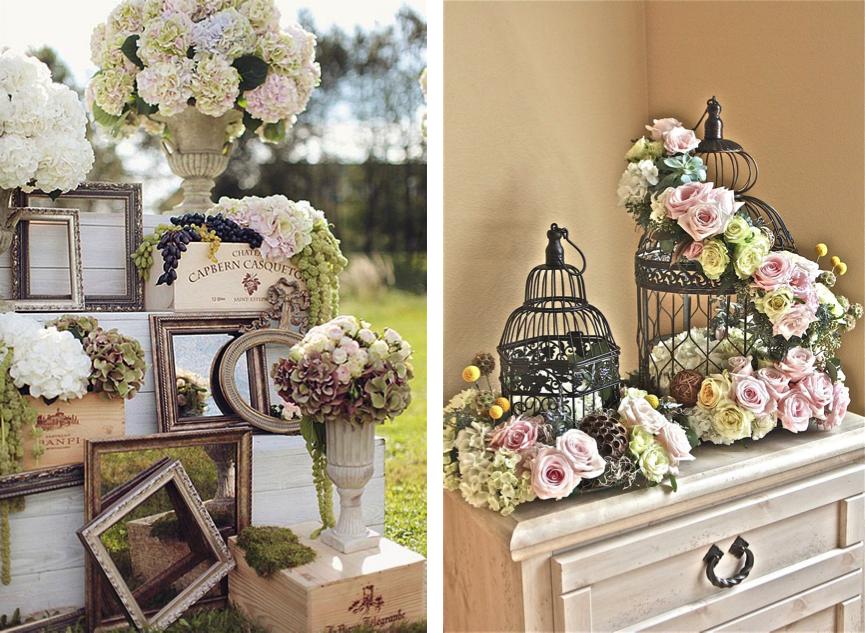 Dale un toque nico con los marcos de fotos un estilo - Estilo vintage muebles ...