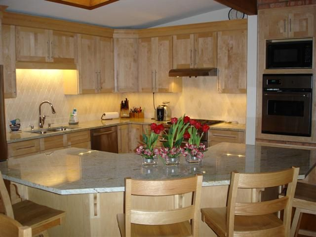 Perfect Corner Kitchen Island With Seating