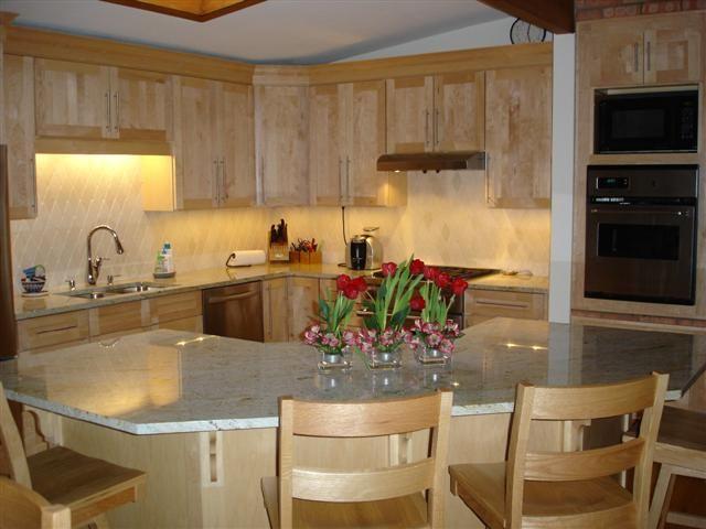 Wonderful Corner Kitchen Island With Seating