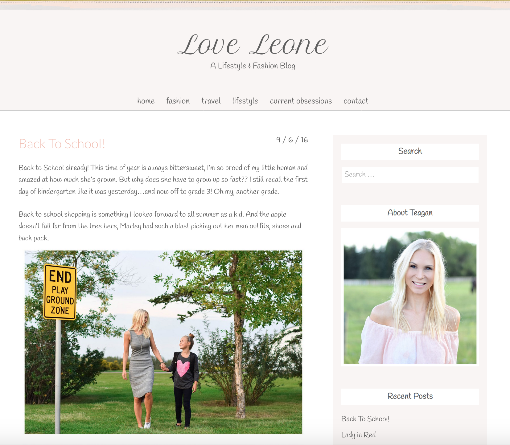 Website soft colors - Adorable Website Running On An Angie Makes Wordpress Theme Love Her Soft Color Choices