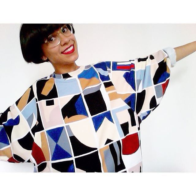 #Regram- #monkistyle babe alert in our #print. Looking awesome @helenerbl