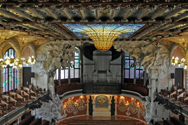 Palau de la musica catalana #barcelona