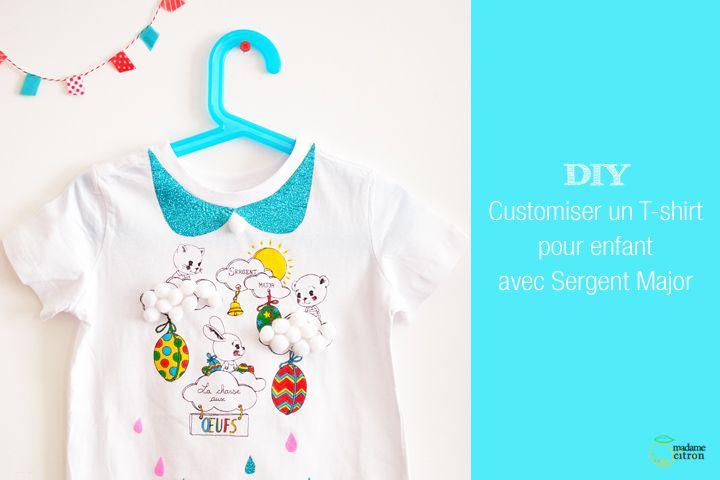 Customiser Un Tee Shirt Enfant Avec Images Sergent T Shirt