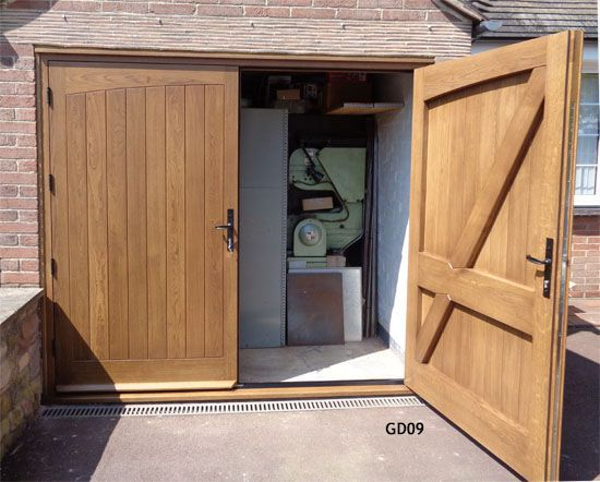 oak garage doors  oak garage doors