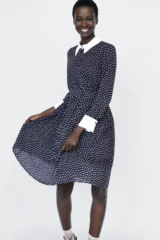 c08eaf5b Image 2 of POLKA DOT DRESS from Zara | MeMeMe | Dresses, Zara ...