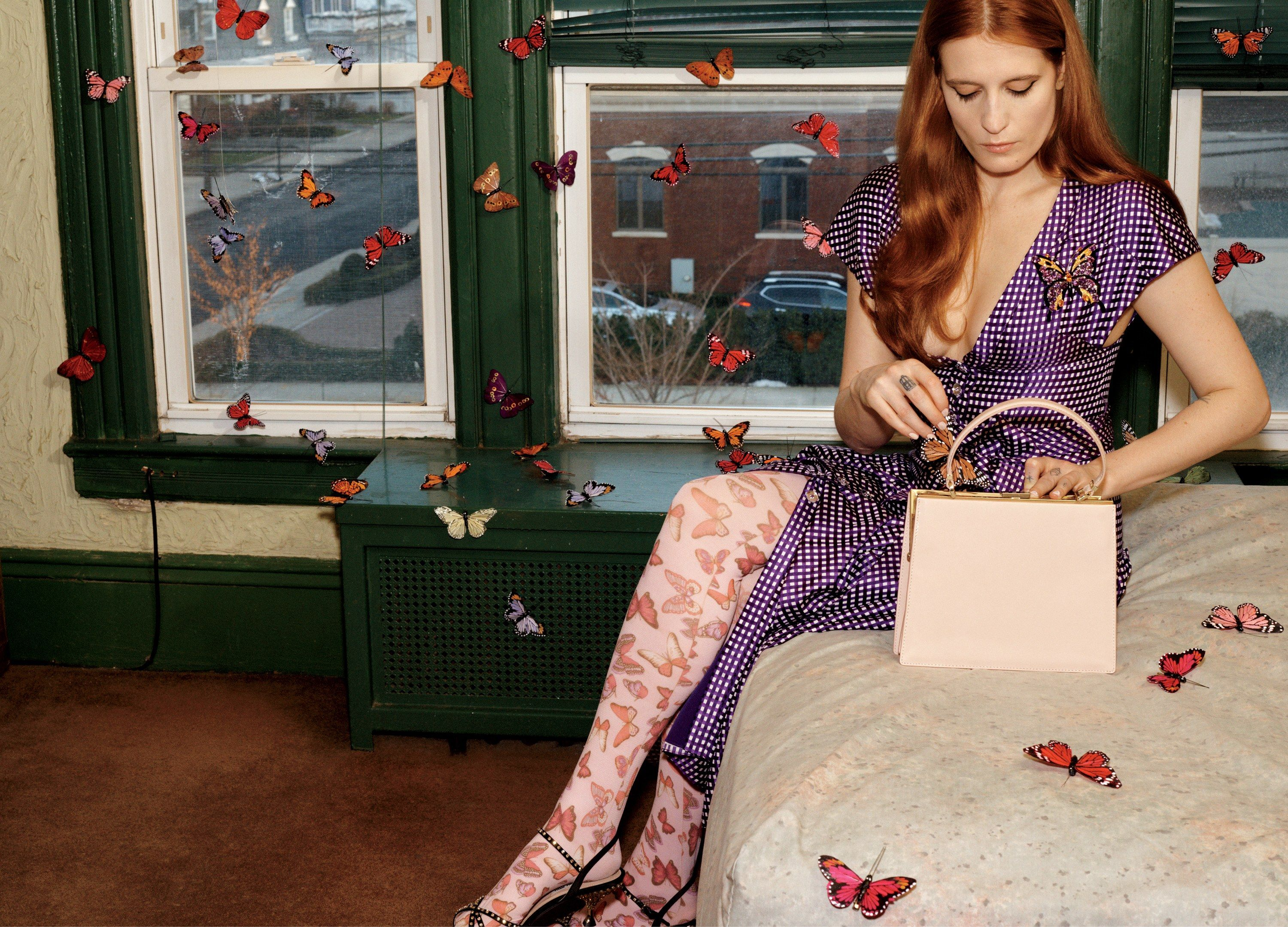 Fashion week From makeover: drummer to model of gucci for woman
