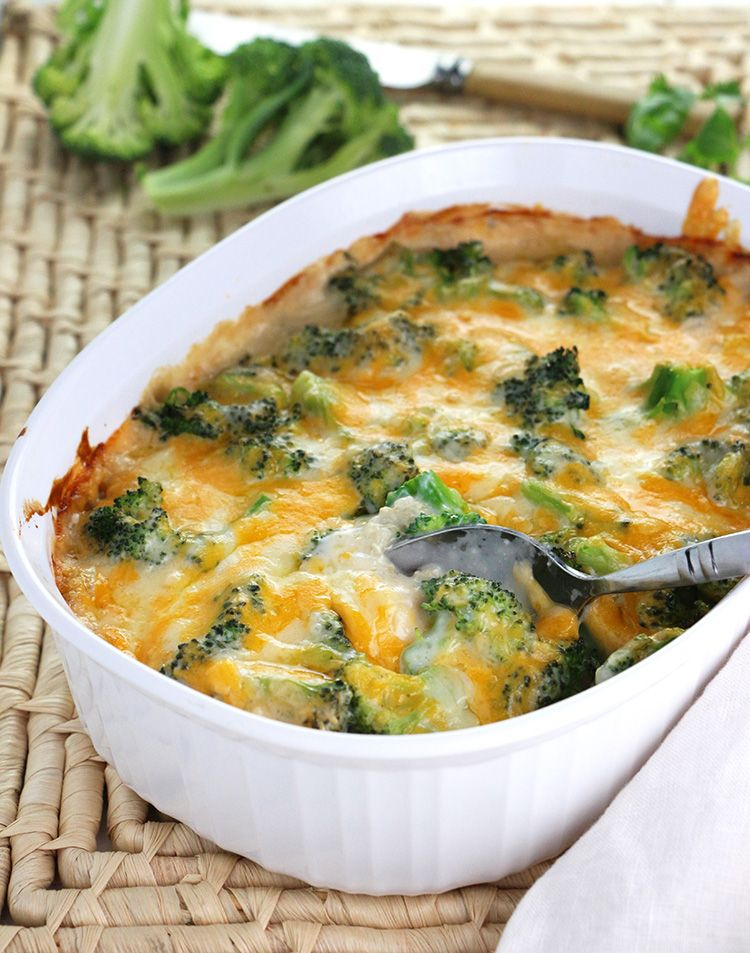 Chicken, Quinoa And Broccoli Casserole Is An Easy Make -6782