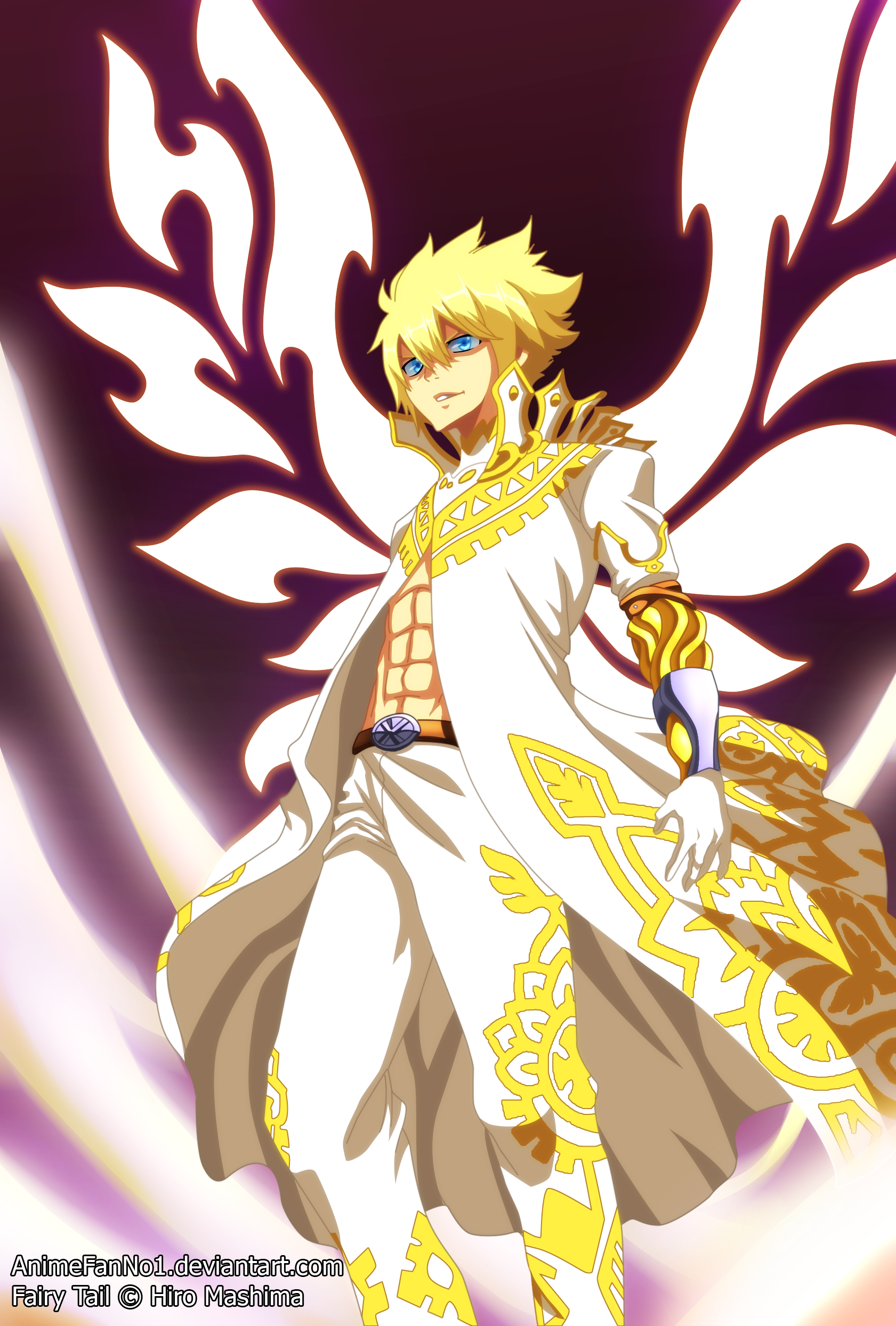 Fairy Tail Chapter 532 Zeref S God Form By Animefanno1 On Deviantart Fairy Tail Manga Zeref Fairy Tail Fairy Tail Anime