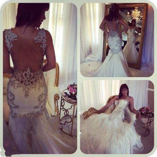 robe de mariée sirène orientale | Robe de