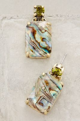 Anthropologie Ormeau Abalone Drops #anthrofave