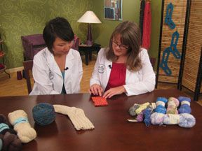 Yarn Spotlight on Sock Yarns, from Knitting Daily TV Episode 1011 - Media - Knitting Daily