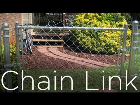 How To Install A Chain Link Fence Part 2 Youtube Chain Link