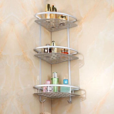 E Saving 3 Tier Bathroom Corner
