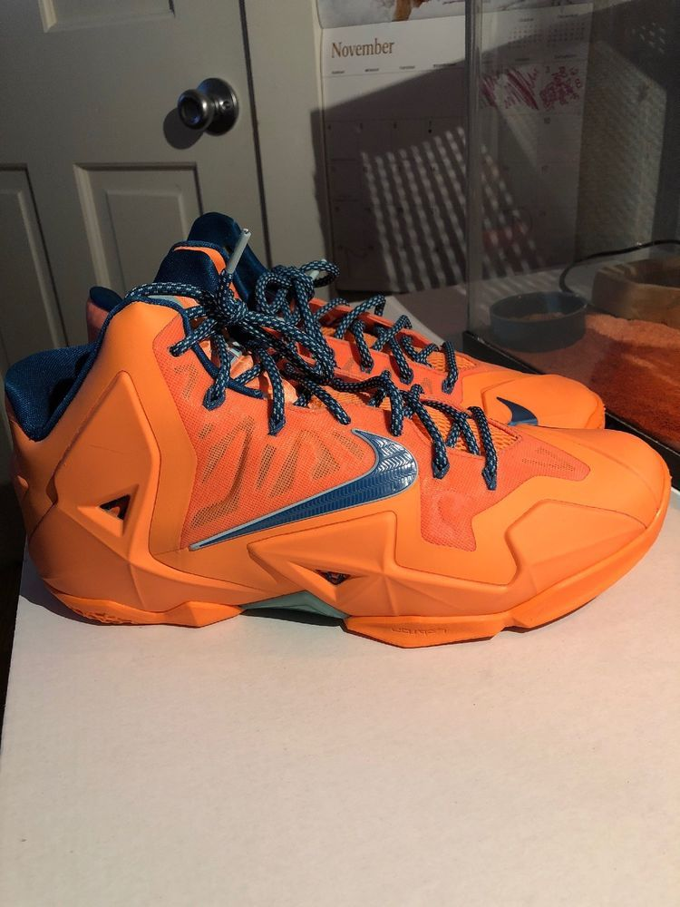 f77621e8c7fa05 Lebron 11 Atomic Orange Nyc  fashion  clothing  shoes  accessories   mensshoes  athleticshoes (ebay link)