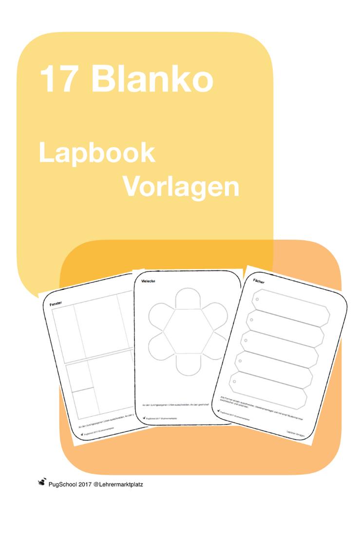 Lapbook Vorlagen Bundel Teacher Made