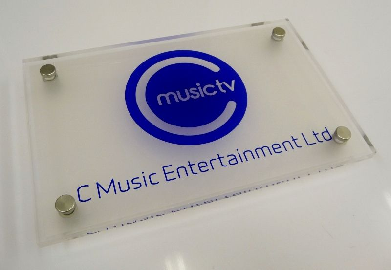 Office Door Signs With Logos Custom Signs For Office Music Tv