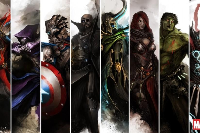 Marvel Wallpaper 1920x1080 Wallpapers Hd 1080p Desktop Wallpapers Marvel Wallpaper Avengers Wallpaper Avengers Comics