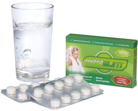 Hydroslim Effervescent Slimming Tablets 1 Box Of 20 Tablets