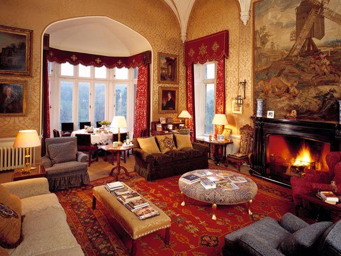 Lismore Castle Waterford Ireland Manor House Interior Castles Interior Interior