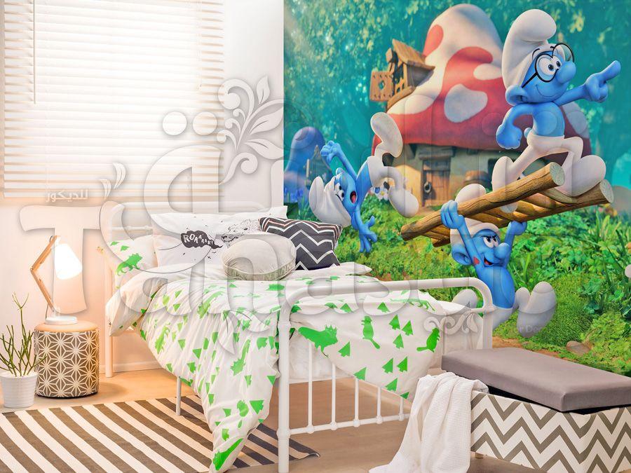 السنافر Tanasuq Kids Rugs Decor Home Decor