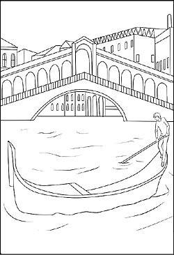 Ausmalbilder La Nder Sta Dte Und Sehenswa Rdigkeiten Malvorlagen Ausmalen Venedig